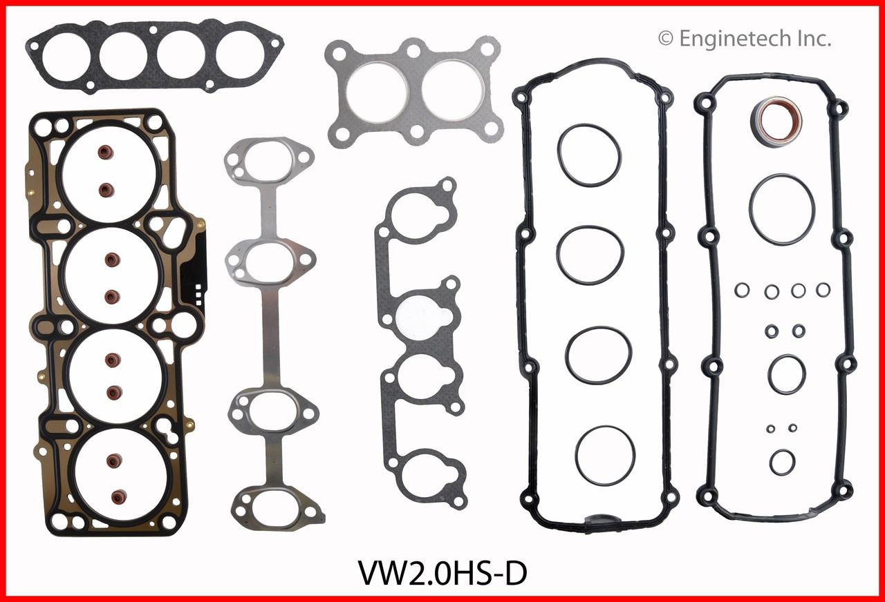 2004 Volkswagen Beetle 2 0L Engine Cylinder Head Gasket Set VW2 0HS-D -31