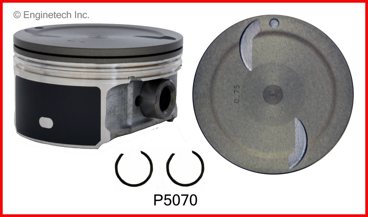 Enginetech S10248-030 Rings GM 6.0L 364