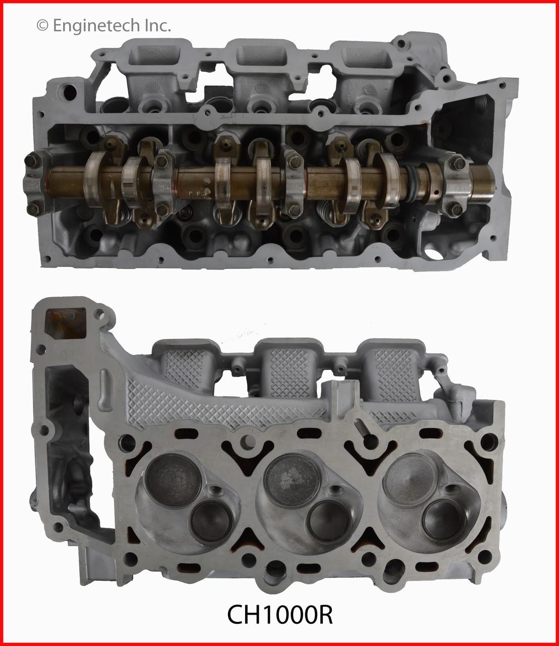 2004 Dodge Durango 3 7l Engine Cylinder Head Assembly Ch1000r 6