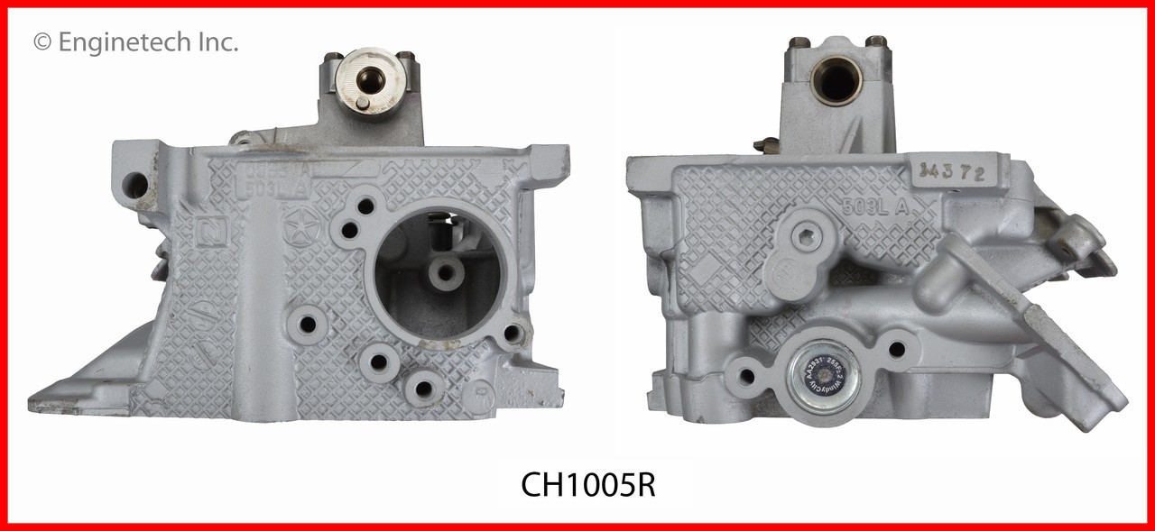 2008 Jeep Liberty 3 7L Engine Cylinder Head Assembly CH1005R -25