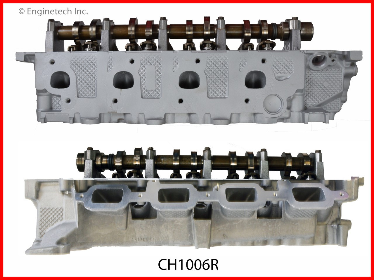 2006 Mitsubishi Raider 4.7L Engine Cylinder Head Assembly CH1006R -34