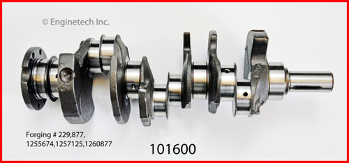 1985 Buick Century 3.8L Engine Crankshaft Kit 101600 -108