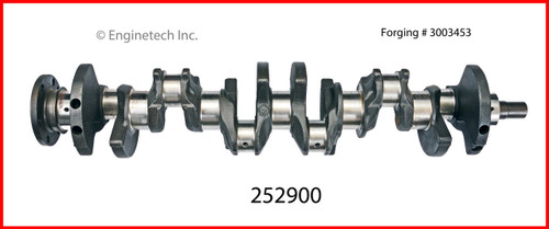 1989 Jeep Cherokee 4.0L Engine Crankshaft Kit 252900 -7