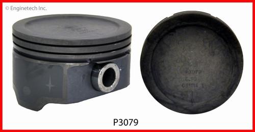 INC Engine Piston Ring Set ENGINETECH C96008-STD