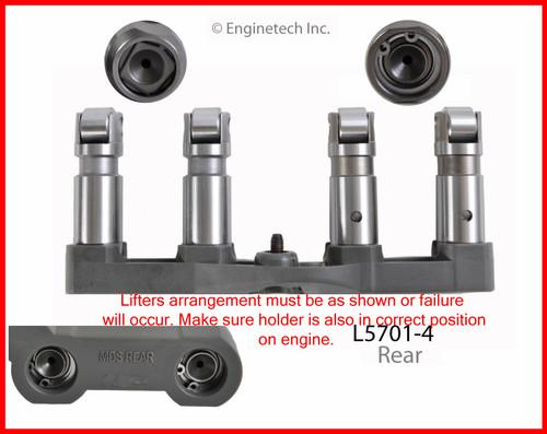 2016 Ram 1500 5.7L Engine Valve Lifter L5701-4 -94