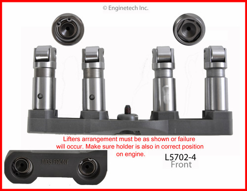 2011 Ram 1500 5.7L Engine Valve Lifter L5702-4.P89