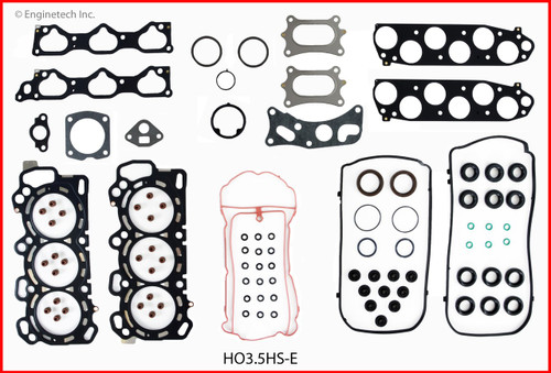 Gasket Set - 2012 Honda Accord 3.5L (HO3.5K-1.C24)