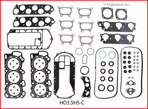 Gasket Set - 2007 Honda Ridgeline 3.5L (HO3.5K-3.B18)