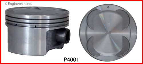 Piston Set - 2000 Honda Passport 3.2L (P4001(6).B14)