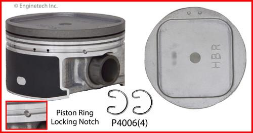 Piston Set - 2005 Saab 9-2X 2.0L (P4006(4).A8)