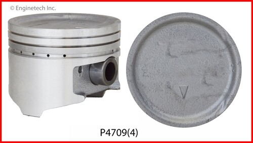 Piston Set - 1994 Mitsubishi Expo 2.4L (P4709(4).B12)
