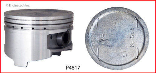 Piston Set - 2001 Mitsubishi Eclipse 3.0L (P4817(6).B14)
