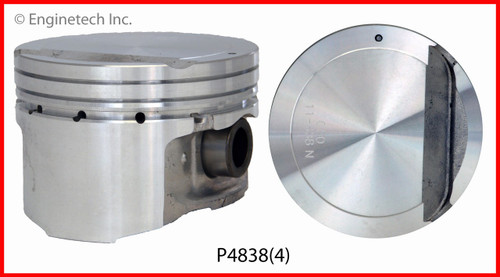 Piston Set - 2012 Hyundai Elantra 2.0L (P4838(4).J98)