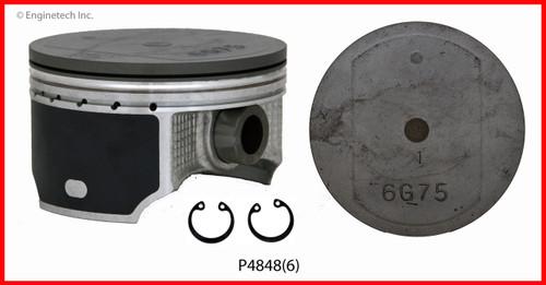 Piston Set - 2003 Mitsubishi Montero 3.8L (P4848(6).A2)