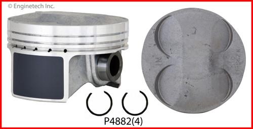 Piston Set - 2009 Honda Civic 2.0L (P4882(4).C22)