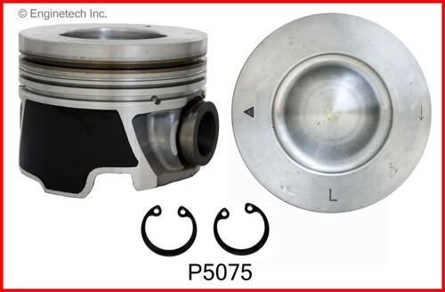 Piston Set - 2006 Hummer H1 6.6L (P5075(8).G69)