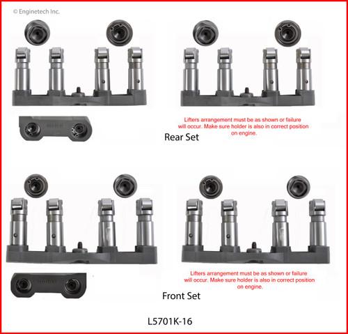 MDS Valve Lifters - 2014 Ram 2500 6.4L (L5701K-16.K101)