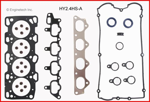 2004 Hyundai Sonata 2.4L Engine Gasket Set HY2.4K-2 -13