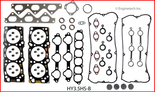 2004 Hyundai XG350 3.5L Engine Gasket Set HY3.5K-1 -5
