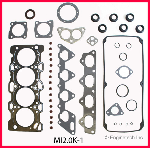 1993 Mitsubishi Expo 2.4L Engine Gasket Set MI2.0K-1 -2