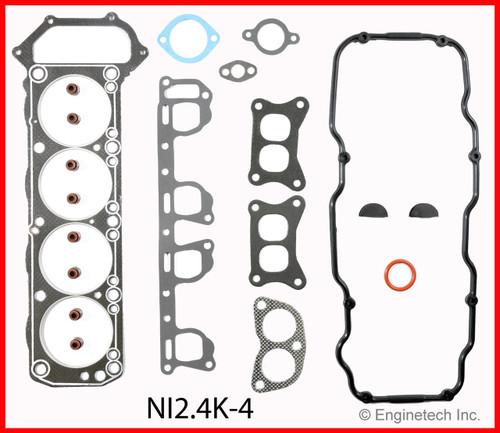 1985 Nissan 720 2.4L Engine Gasket Set NI2.4K-4 -3