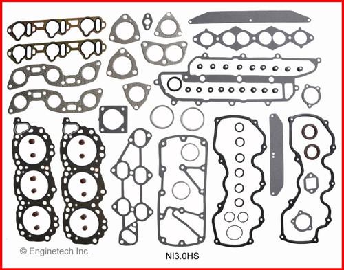 1988 Nissan Maxima 3.0L Engine Gasket Set NI3.0K-3 -4