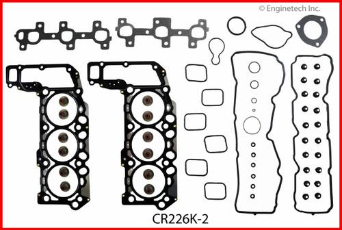 2006 Mitsubishi Raider 3.7L Engine Gasket Set CR226K-2 -14