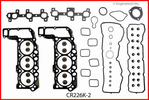 2008 Mitsubishi Raider 3.7L Engine Gasket Set CR226K-2 -32