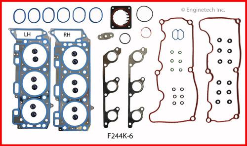 2008 Land Rover LR3 4.0L Engine Gasket Set F244K-6 -18
