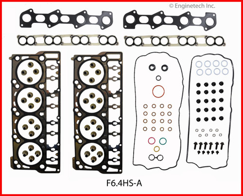 2008 Ford F-250 Super Duty 6.4L Engine Cylinder Head Gasket Set F6.4HS-A -1