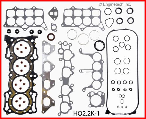 1990 Honda Accord 2.2L Engine Gasket Set HO2.2K-1 -2