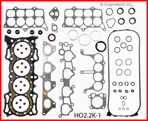 1991 Honda Accord 2.2L Engine Gasket Set HO2.2K-1 -5
