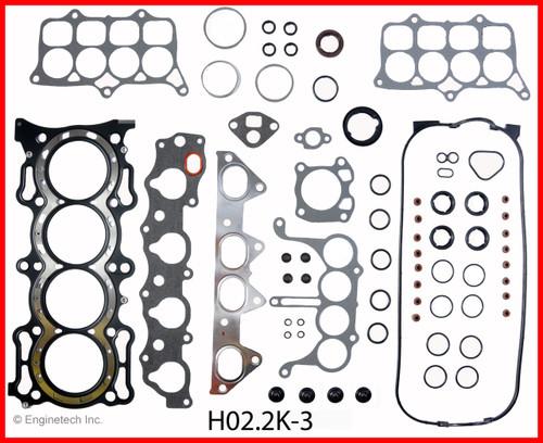 1995 Honda Accord 2.2L Engine Gasket Set HO2.2K-3 -2