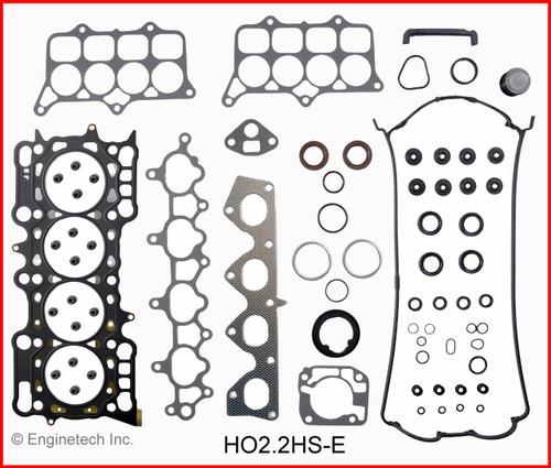 1993 Honda Prelude 2.2L Engine Gasket Set HO2.2K-4 -1