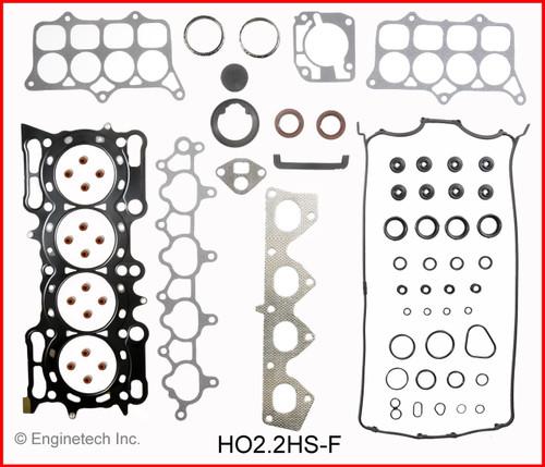 2000 Honda Prelude 2.2L Engine Gasket Set HO2.2K-5 -4
