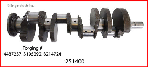 Crankshaft Kit - 1988 Jeep Grand Wagoneer 5.9L (251400.K168)