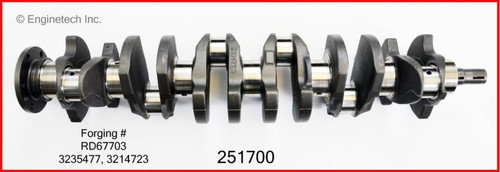 Crankshaft Kit - 1986 American Motors Eagle 4.2L (251700.K205)