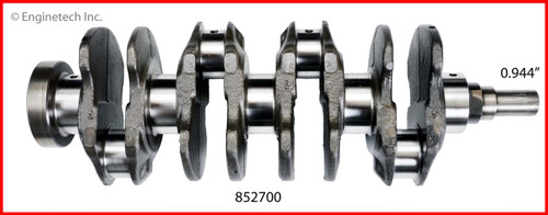 Crankshaft Kit - 1988 Honda Civic 1.6L (852700.A1)