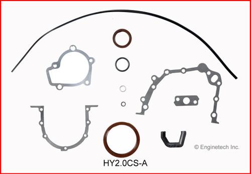 2004 Hyundai Elantra 2.0L Engine Gasket Set HY2.0K-1 -5