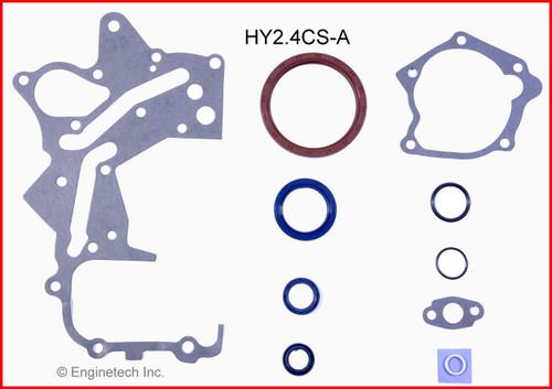 2004 Hyundai Santa Fe 2.4L Engine Gasket Set HY2.4K-2 -12