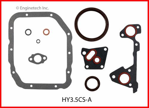 2004 Hyundai Santa Fe 3.5L Engine Gasket Set HY3.5K-1 -4