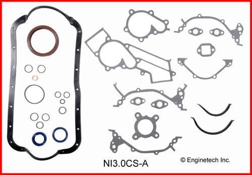 1985 Nissan Maxima 3.0L Engine Gasket Set NI3.0K-1 -1