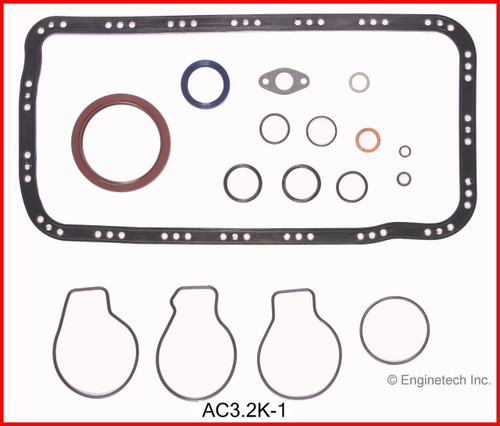 1990 Acura Integra 1.8L Engine Gasket Set AC3.2K-1 -1