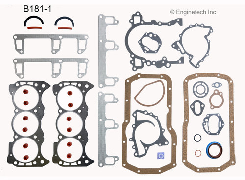 1985 Buick Century 3.0L Engine Gasket Set B181-1 -20