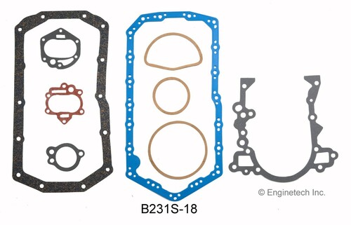 1985 Buick Century 3.8L Engine Gasket Set B231S-18 -160