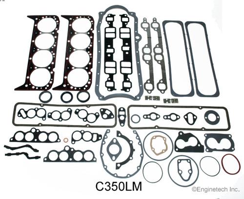 1990 Chevrolet G30 5 7l Engine Gasket Set C350lm 182