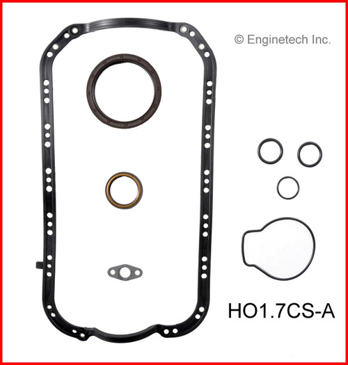2004 Honda Civic 1.7L Engine Gasket Set HO1.7K-1 -12