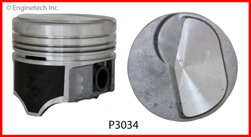 1985 Chevrolet B60 6.0L Engine Piston Set P3034(8) -3