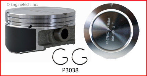 1998 Pontiac Grand Prix 3.8L Engine Piston Set P3038(6) -132