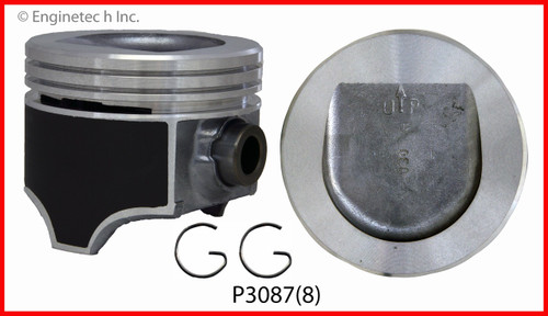 1985 Buick LeSabre 5.0L Engine Piston Set P3087(8) -8